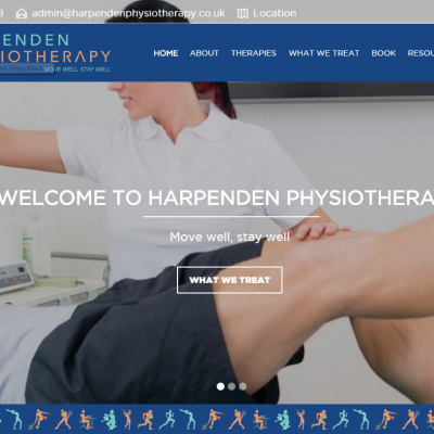 New Look For Harpenden Physiotherapy