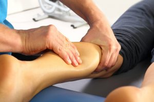 sports leg massage: sports massage hertfordshire